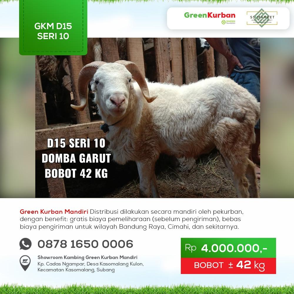 Green Kurban Mandiri | GKM#D15 Seri 10
