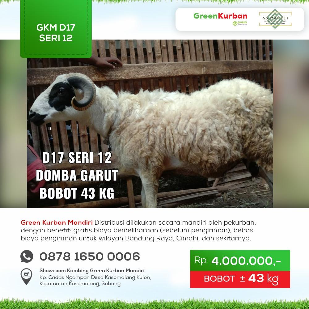 Green Kurban Mandiri | GKM#D17 Seri 12