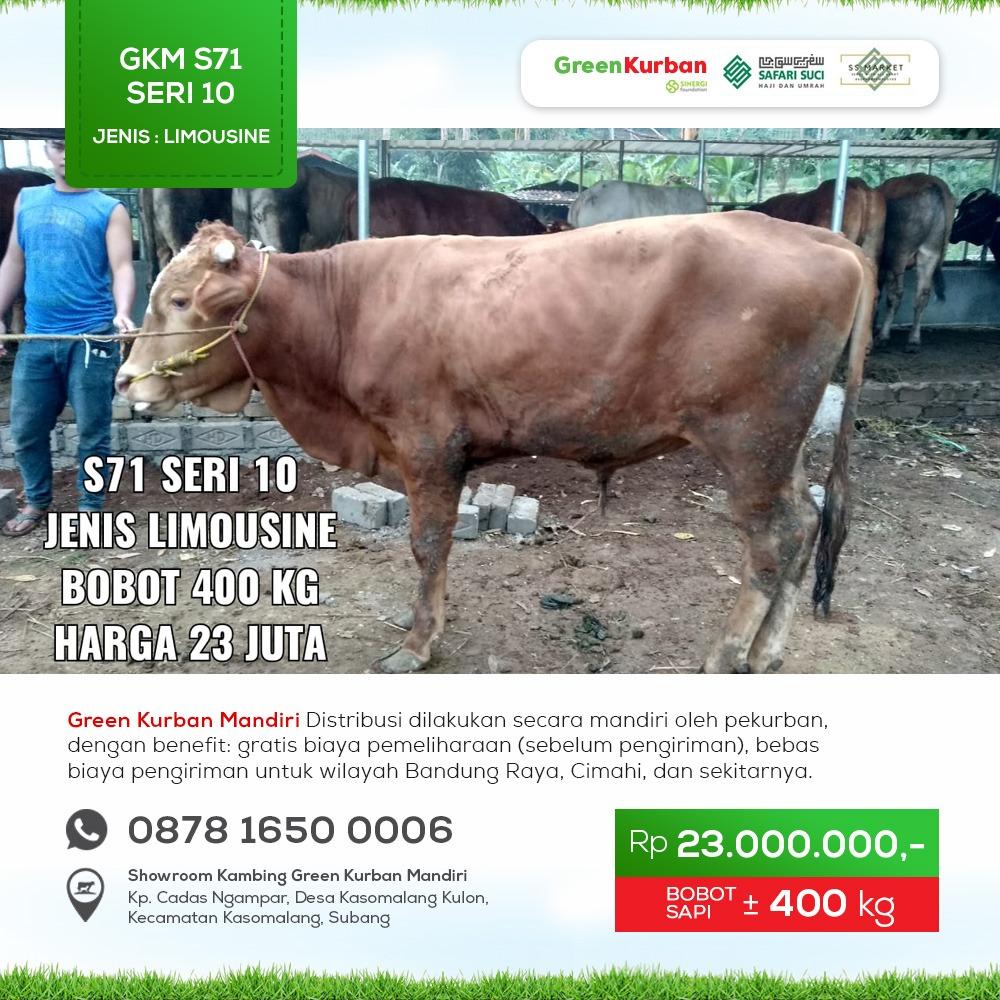 Green Kurban Mandiri | GKMS#S71 Seri 10