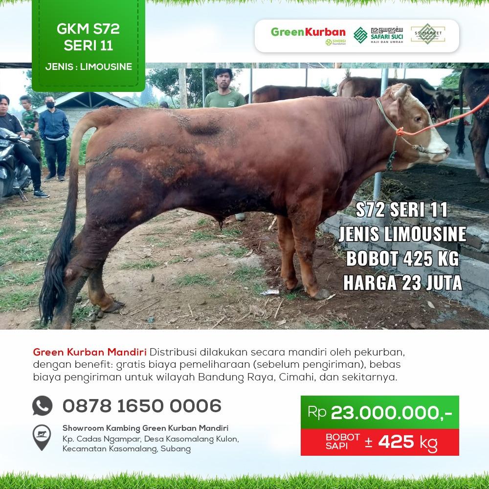 Green Kurban Mandiri | GKMS#S72 Seri 11