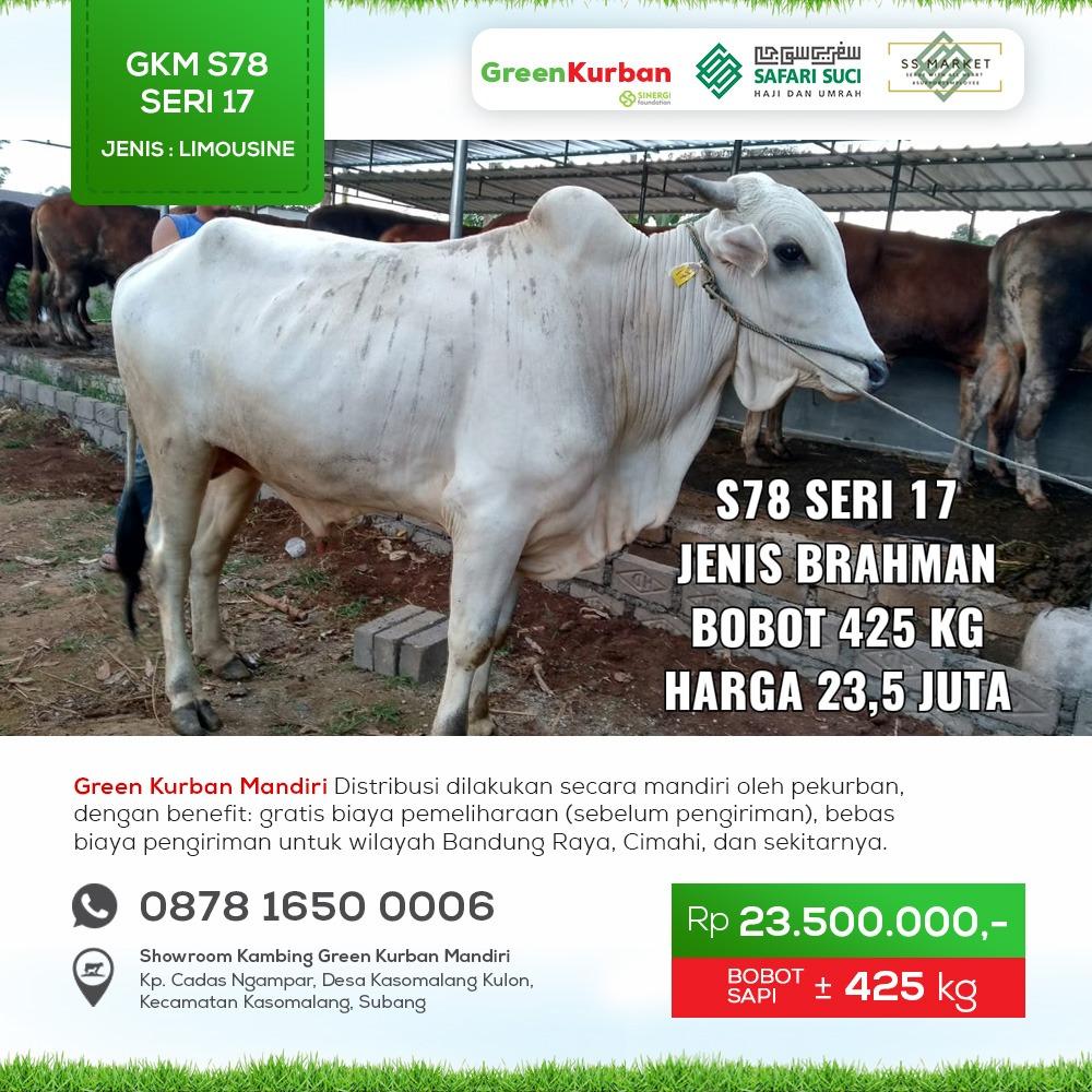 Green Kurban Mandiri | GKMS#S78 Seri 17